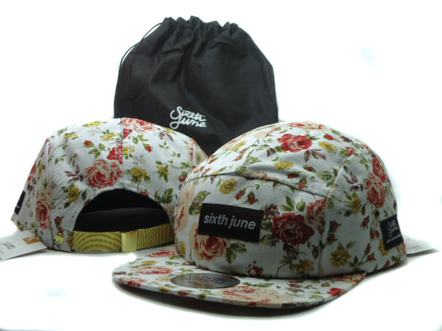 Sixth june Flower Snapbacks Hat SF 4